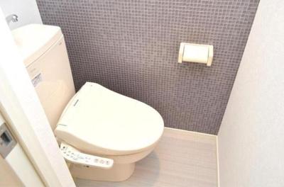 ハーモニーテラス墨田のコンパクトで使いやすいトイレです