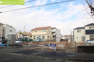 【外観】座間市入谷東2丁目 新築戸建  全3棟【仲介手数料無料】