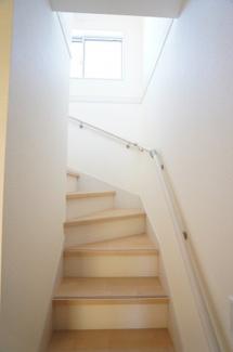 玄関から直接行ける階段です。