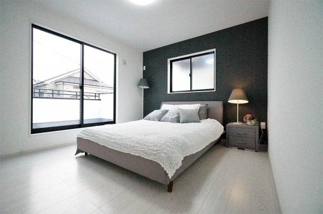 【寝室】南東角地の新築戸建て 川口市戸塚東4期