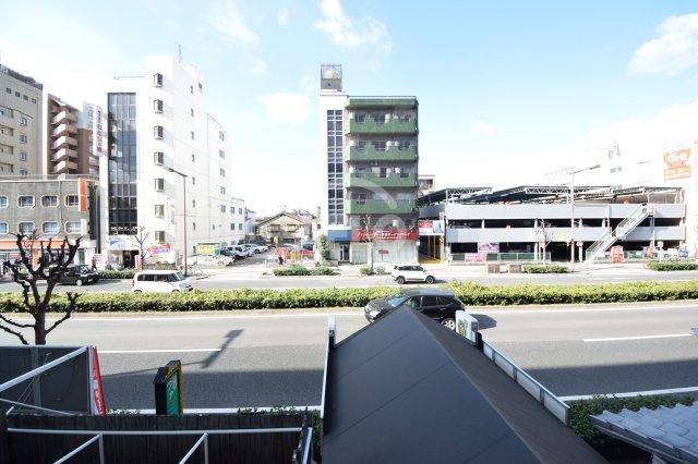 長居東コーポ 眺望(2021年1月22日現在)