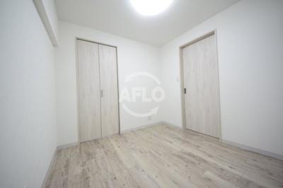長居東コーポ 寝室(2021年1月22日現在)