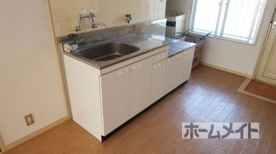 【キッチン】メゾンソレイユⅡ