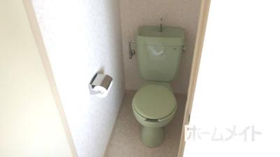 【トイレ】メゾンソレイユⅡ