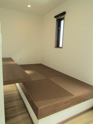 主寝室の畳スペース