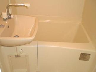 【浴室】レオパレス下和田