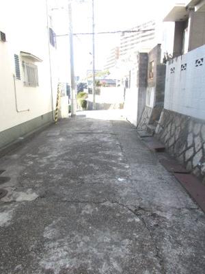 【前面道路含む現地写真】神戸市垂水区歌敷山3丁目