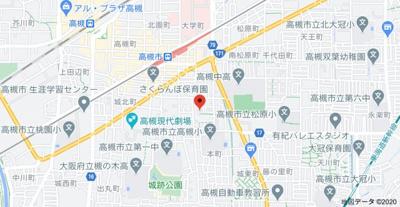 【地図】第一新和荘 (株)Roots