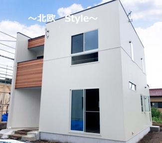 【土地図+建物プラン例】高崎市中豊岡町 売地