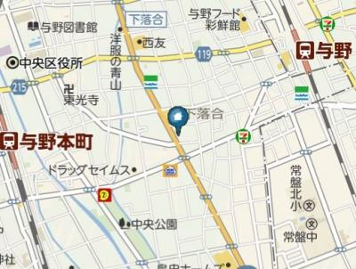 【地図】IL SOLE(イルソーレ)