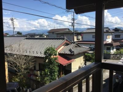 2階東側からの景色です。