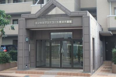 【エントランス】エンゼルマリナコート姪浜弐番館