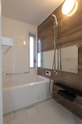 ゆったり過ごせるお風呂です 吉川新築ナビで検索