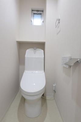 落ち着いたトイレです 吉川新築ナビで検索
