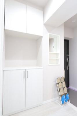 シンプルで使いやすい玄関です 吉川新築ナビで検索