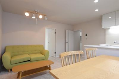 ゆったり過ごせる居間です 吉川新築ナビで検索