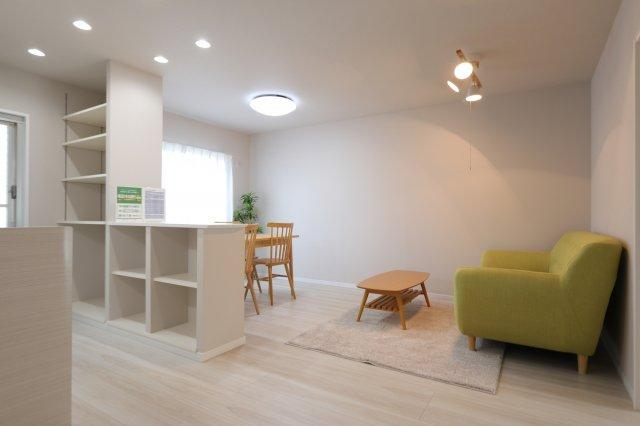 居間です 吉川新築ナビで検索