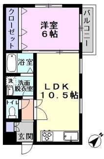 【間取り】千葉県流山市流山5丁目一棟マンション