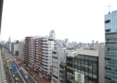 【展望】ラクアスレジデンス東新宿