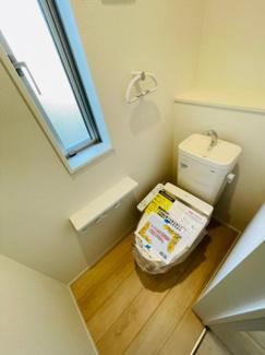 【トイレ】沼津市小諏訪第5 新築戸建 平屋建て 1号棟