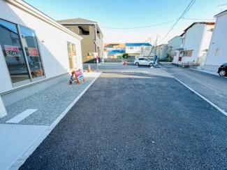 【駐車場】沼津市小諏訪第5 新築戸建 平屋建て 1号棟