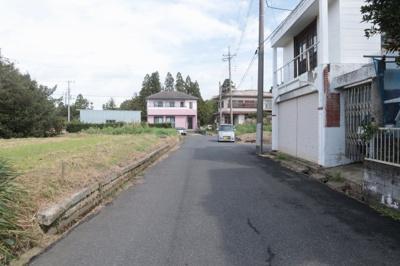 【前面道路含む現地写真】茂原市千沢
