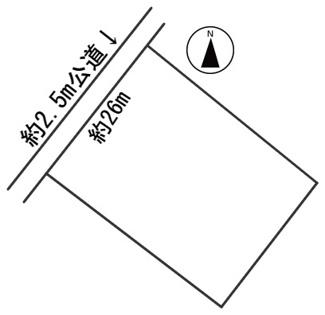 【区画図】55923 山県市佐野土地