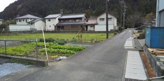 【前面道路含む現地写真】55923 山県市佐野土地