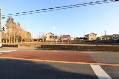【前面道路含む現地写真】長生郡睦沢町川島