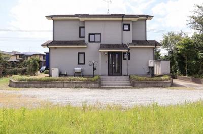 【前面道路含む現地写真】大網白里市上貝塚 中古住宅