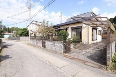 【前面道路含む現地写真】いすみ市岬町榎沢 中古住宅