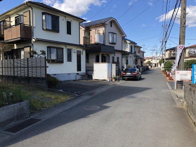 【前面道路含む現地写真】閑静な住宅地に立地しています!