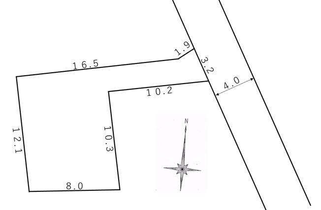 【区画図】敷地面積138.35㎡(41.85坪)です!