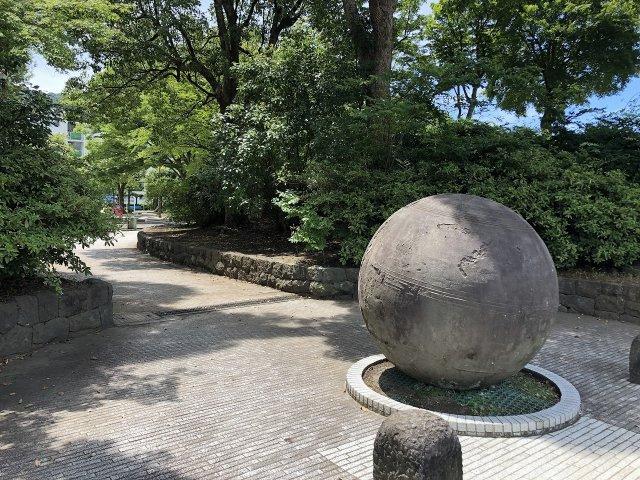団地内には公園もあります。