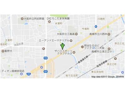 【地図】コーポ望月3棟