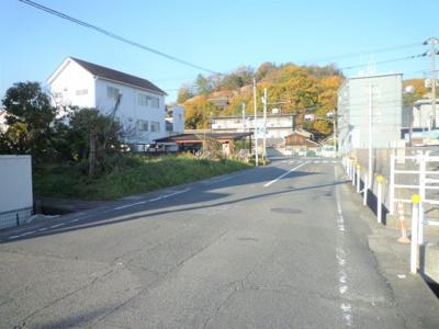 【前面道路含む現地写真】児島柳田町売地