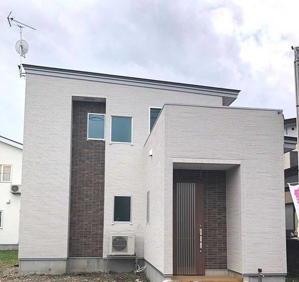 【外観】大仙市朝日町 新築建売住宅