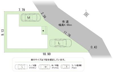 【区画図】南区安松町 新築物件 HP