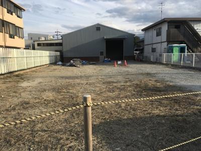約40坪の倉庫付き 倉庫は鉄骨以外令和2年12月新設