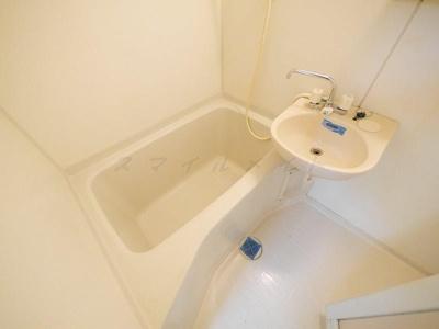 【浴室】築山コーポ(ツキヤマコーポ)