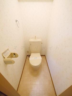 【トイレ】築山コーポ(ツキヤマコーポ)