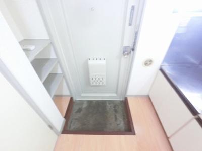 すっきりとした玄関です。