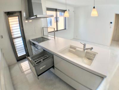 【キッチン】磐田市今之浦Ⅱ1丁目 新築物件 TAM