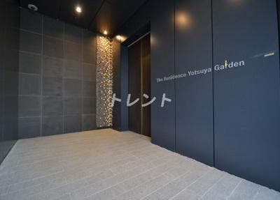 【エントランス】ザレジデンス四谷ガーデン