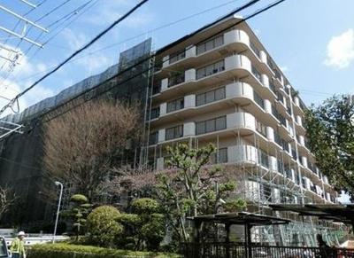 【外観】若江岩田スカイハイツ