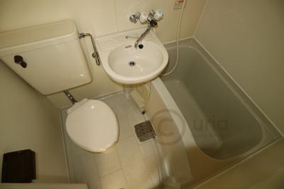 【浴室】サンパレス21六甲1