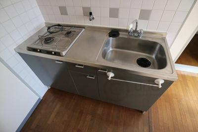 【キッチン】サンパレス21六甲1