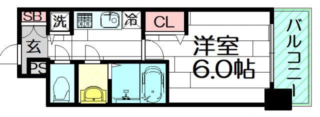 プレサンス南堀江