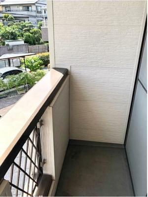 【バルコニー】メゾネット長瀬