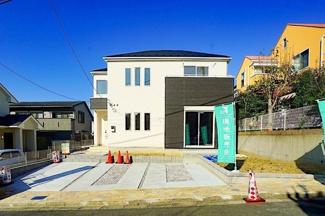 閑静な住宅街に限定2棟の販売! 前面道路が広く、お車の駐車もしやすいです♪